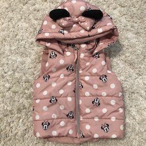 H&M Minnie Mouse vest size 9-12 months